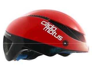 Cadomotus omega aerospeed helm rood/zwart S (50-55 cm)