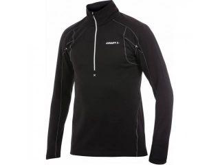 Craft Bodymapped zip pullover Black
