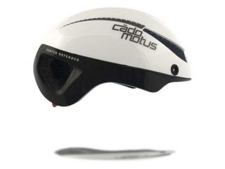 Cadomotus omega aerospeed helm wit/zwart l (58-61